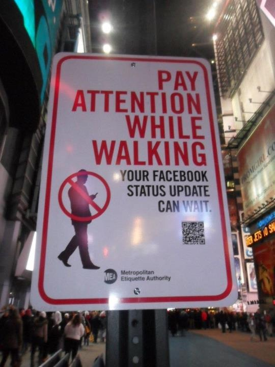 facebook warning sign