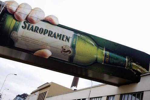 Staropramen advertise