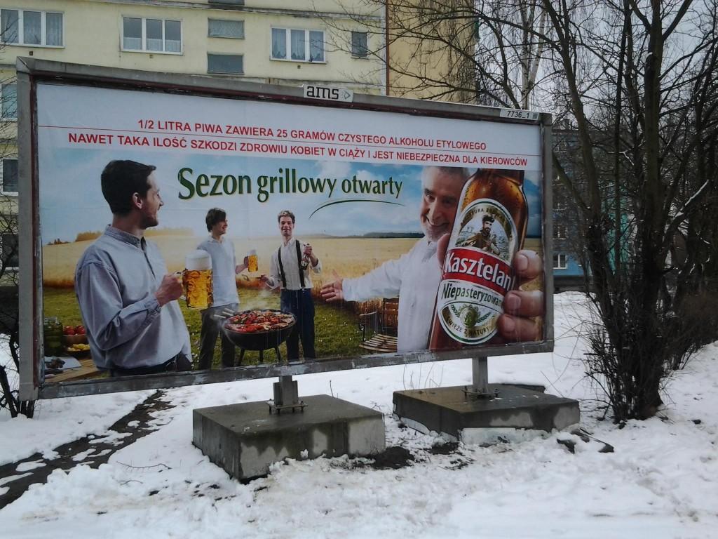 Kasztelan beer winter fail