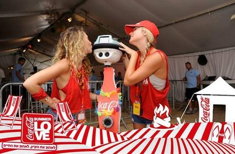 coca-cola robot
