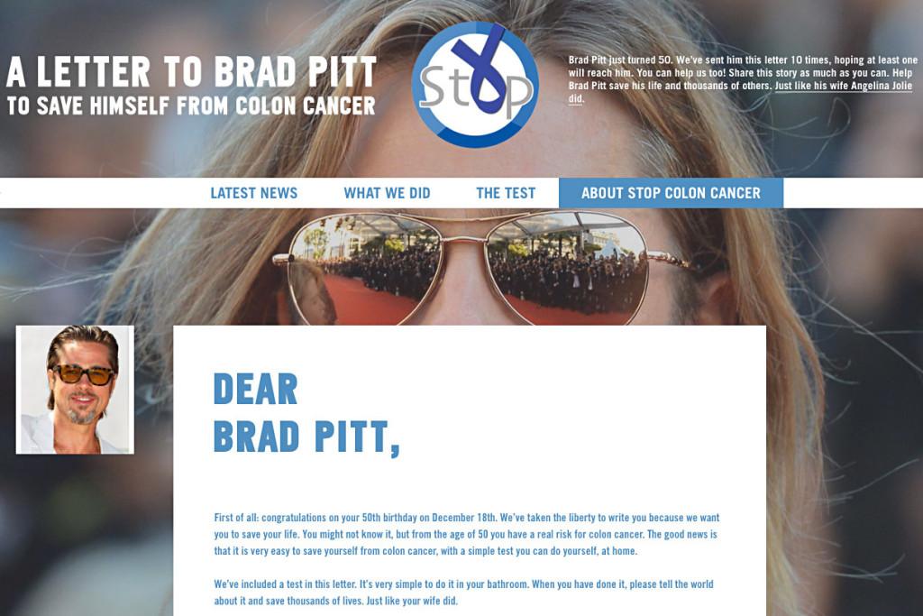 Dear Brad Pitt