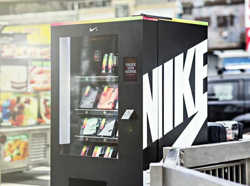 nike fuelband vending machine