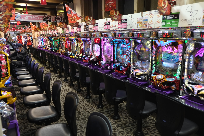Pachinko games in Japan, Tokyo, Kyoto, Osaka
