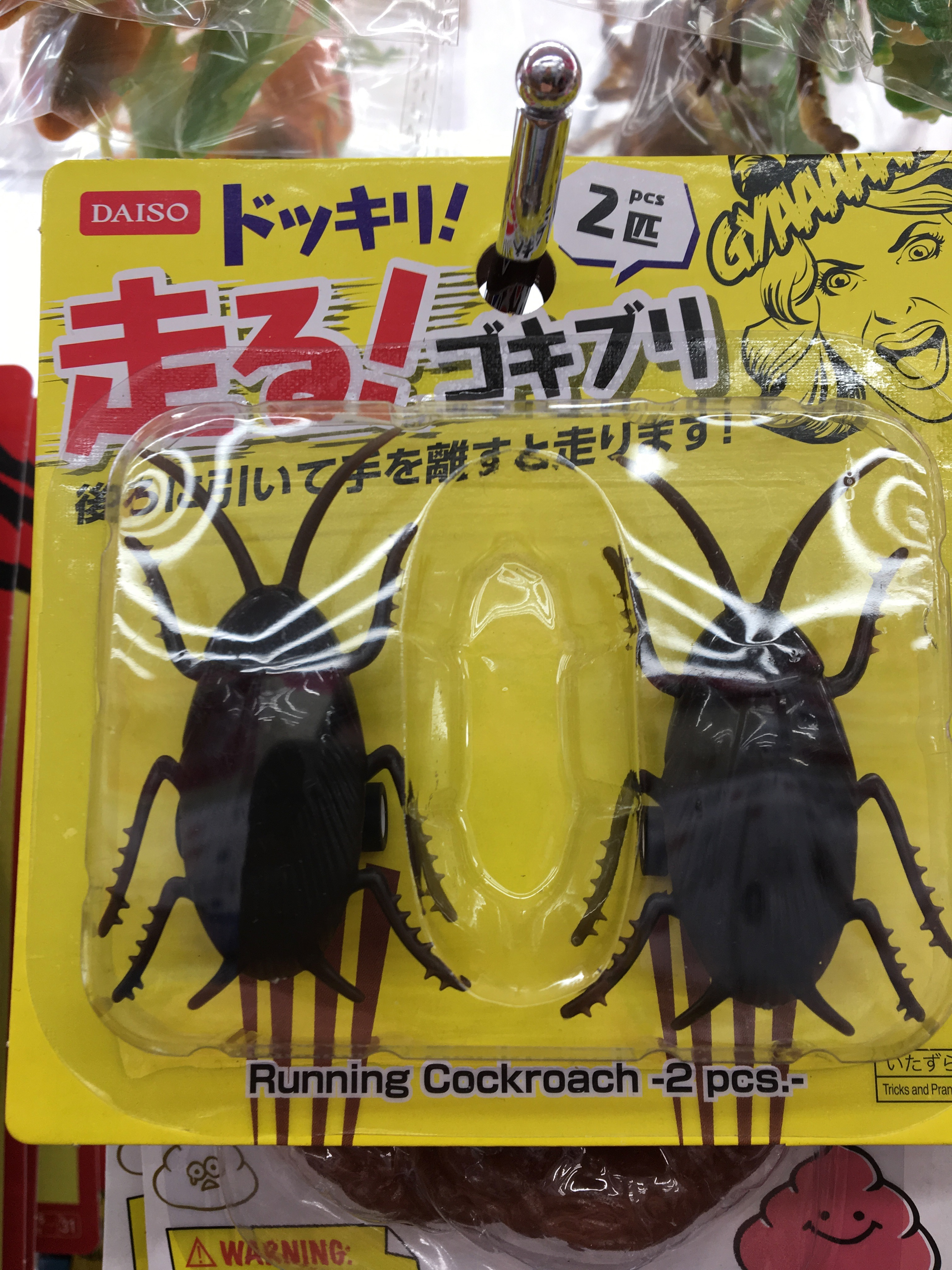 Running Cockroach Daiso