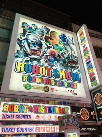 Robot Show Robot Restaurant Tokyo Shinjuku